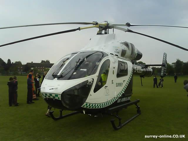Air Ambulance in Walton