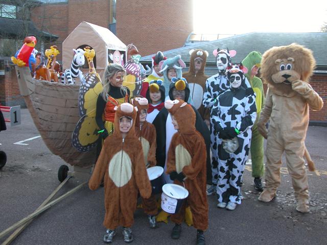 Windlesham Pram Race 2009 - 26th December