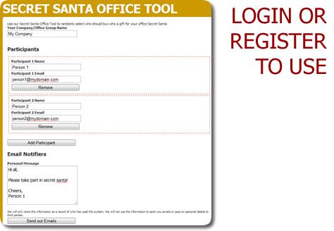 Secret Santa - Surrey Online