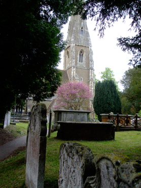 Picture of Weybridge-church