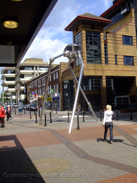 Picture of War Of The Worlds Sculpture