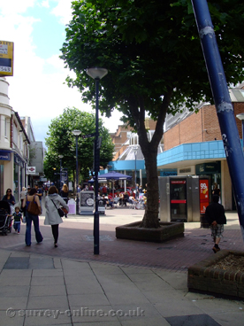 Picture of woking shopping