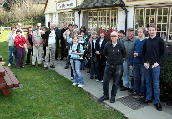 Quiz Walk in Surrey - All of us
